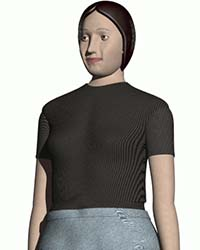 95th percentile human female model for solidworks