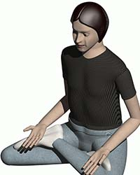 Picture of HumanWorks 15 year old human body model for solidworks